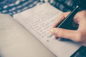 What would you do if you had a checklist for success?