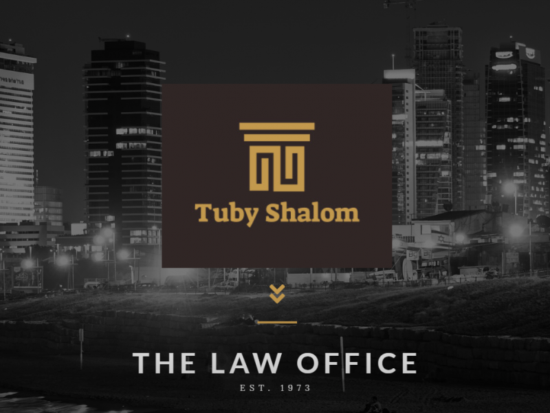 adv. Tuby Shalom website WordPress